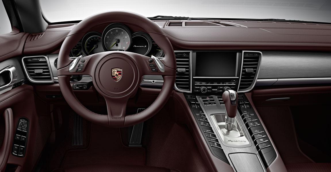 2014 porsche panamera turbo and turbo executive announced for the us - Porsche Panamera White Red Interior