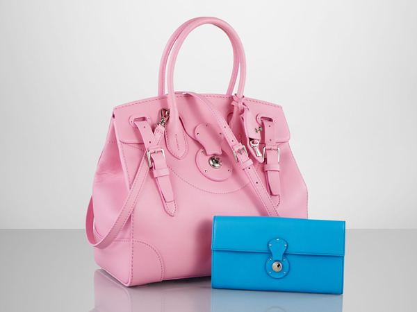 f50fee37a2 Ralph Lauren to support breast cancer fight with the Soft Ricky bag ...