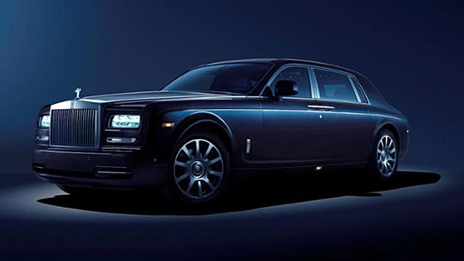 Rolls Royce Phantom Celestial With Starlight Headliner