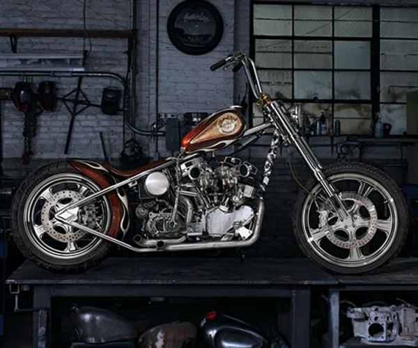 Indian Larrys Wild Child Motorcycle