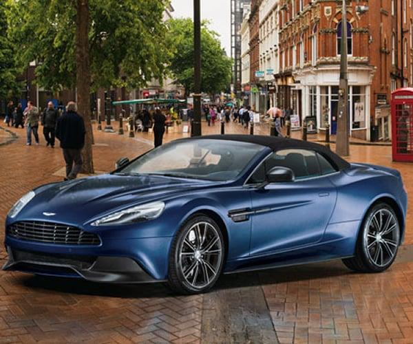 Neiman Marcus 2014 Aston Martin Vanquish Volante