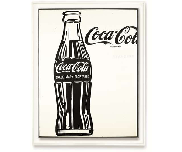 This oversized Coca Cola bottle by Andy Warhol may fetch a staggering $60 million : Luxurylaunches