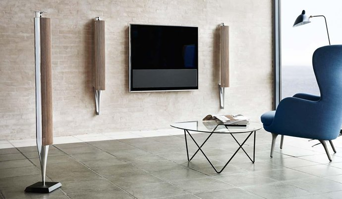 bang olufsen introduces high end wireless speakers. Black Bedroom Furniture Sets. Home Design Ideas