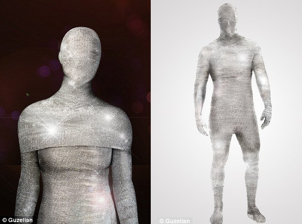 The world's most expensive Morphsuit is a million dollar Halloween costume with 20,000 diamonds : Luxurylaunches