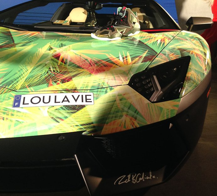 Lebron James S Lamborghini Aventador Is Customized To