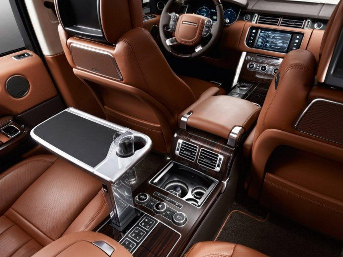 The 270000 Range Rover Autobiography Black offers first class