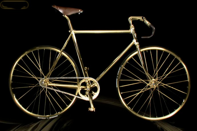 Aurumania-Crystal-Edition-gold-Bike-1