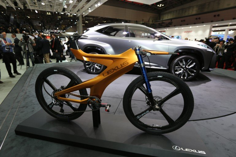 Superior Lexus NBX Concept Mountain Bike Wins Us Over