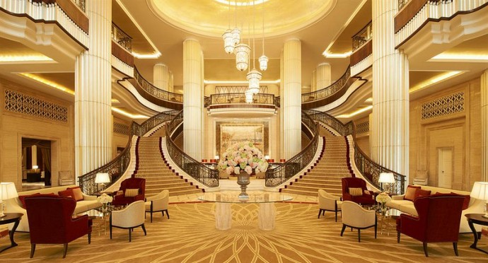 Grand Hotel Foyer : St regis abu dhabi review