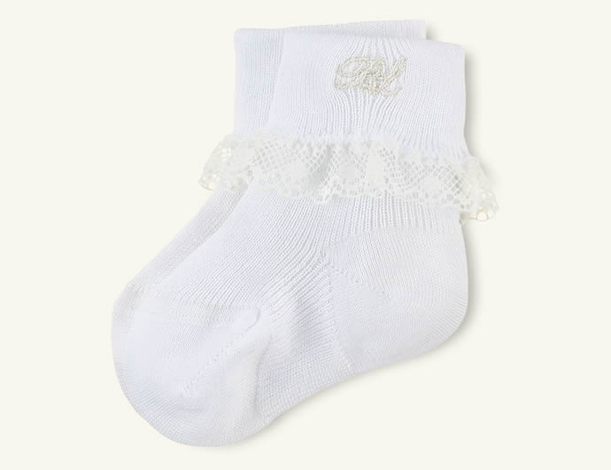 Layette Special Occasion Lace Socks