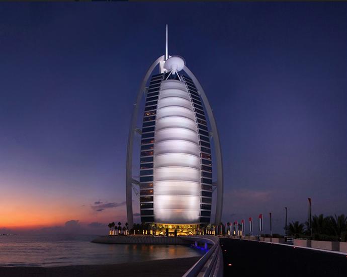 A Look Inside The Opulently Designed Bathrooms At Burj Al