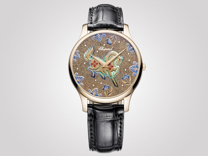 Chopard LUC XP Urushi watch honors the year of the horse