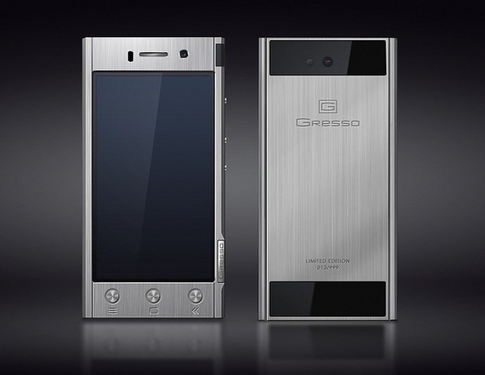 0404addb366 Gresso Radical an Android smartphone made of solid titanium. by Sayan  Chakravarty