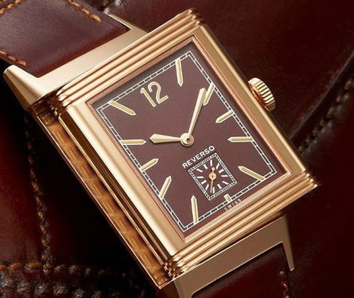 jaeger-lecoultre-grande-reverso- ultra-thin-1931-chocolate dial-0