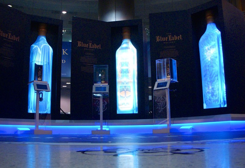 Johnnie Walker Blue Label Celebrates Art With A Gallery In