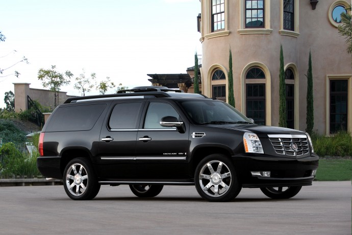 Customized Cadillac Escalade Comes With A Bar Home