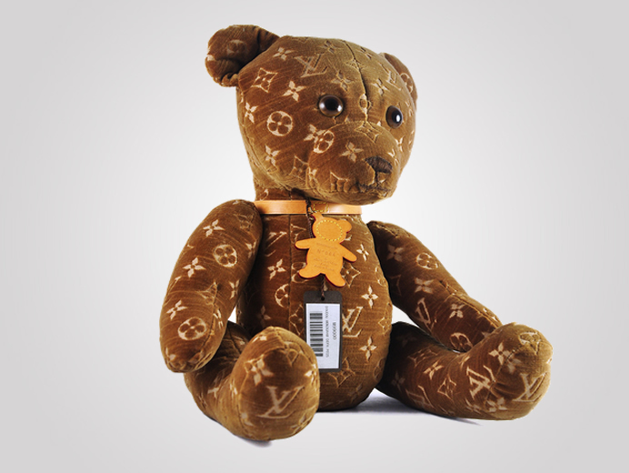 louis vuitton u2019s limited edition teddy bear retails for  9000 at toy tokyo store in nyc