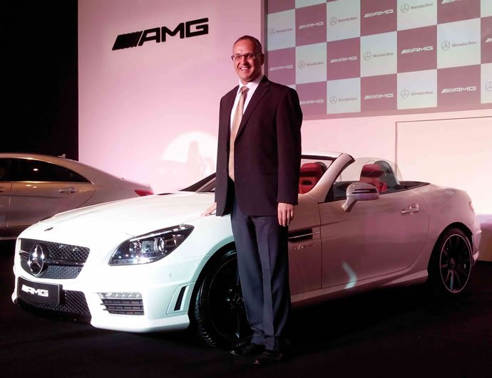 Mercedes offers a fly-in visit to the factory for its potential customers of AMG cars in India
