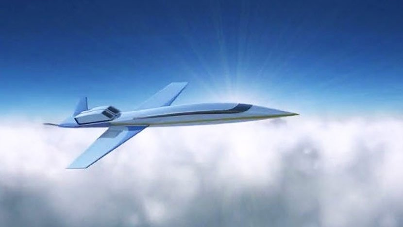 Boston based company is developing a supersonic business jet that can fly from New York to London in just 3 hours : Luxurylaunches