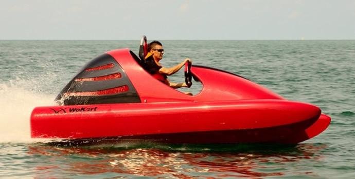 Wokart: An Adrenaline Pumping Go-kart For The Water