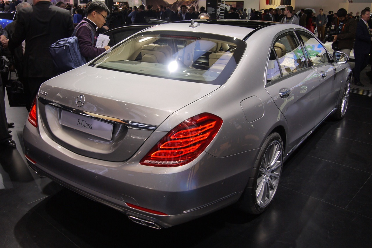 The Ultra Luxurious 2015 Mercedes S600 Arrives At Detroit