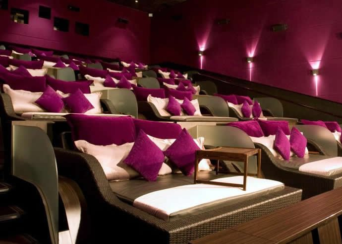 With Beds For Seats These Four Movie Theaters Take Comfort To A