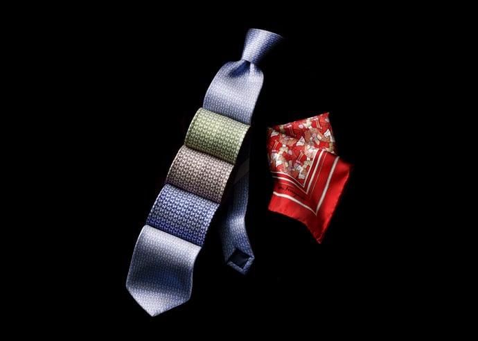 horse-print-ties