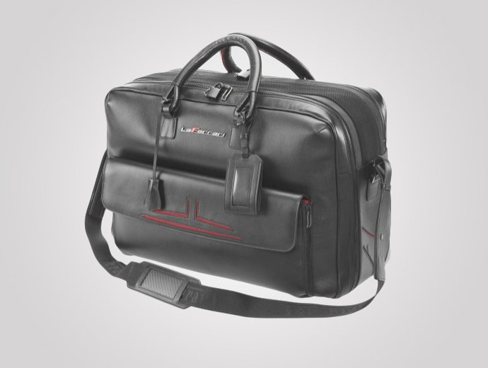 LaFerrari 48-hour Travel Bag is the perfect Valentine's Day gift for Ferrari fans : Luxurylaunches
