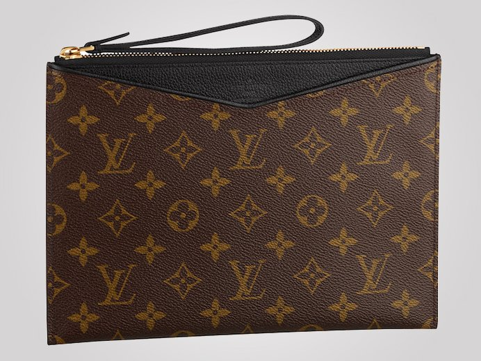 louis vuitton pochette pallas carries your ipad mini in style. Black Bedroom Furniture Sets. Home Design Ideas