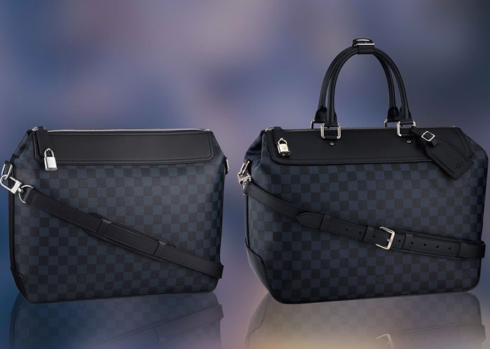 Louis Vuitton S Damier Cobalt Collection Is Elegant