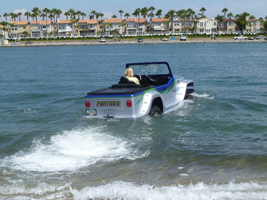 Watercar Panther Is The World S Fastest Amphibious Car