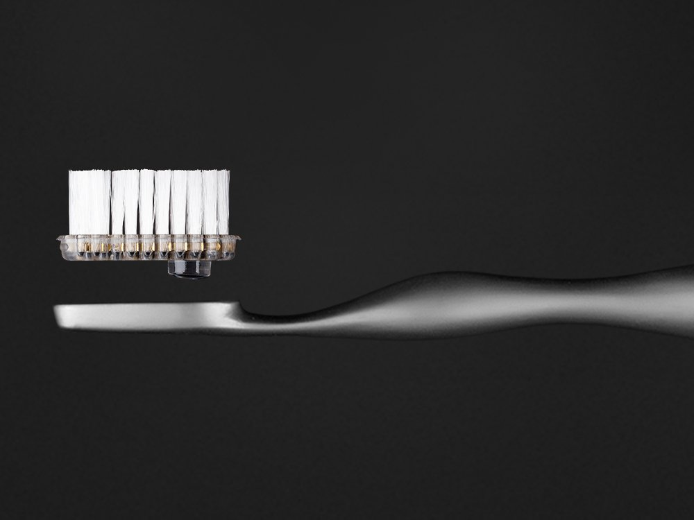 the world 39 s most expensive toothbrush is made from titanium and costs 4 375. Black Bedroom Furniture Sets. Home Design Ideas