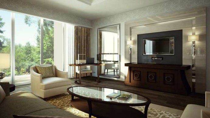 Executive Suite Living Room Seating
