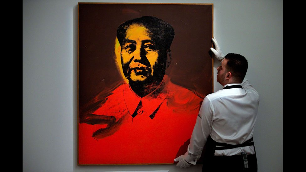 Andy Warhol S Artwork On Chinese Communist Leader Mao