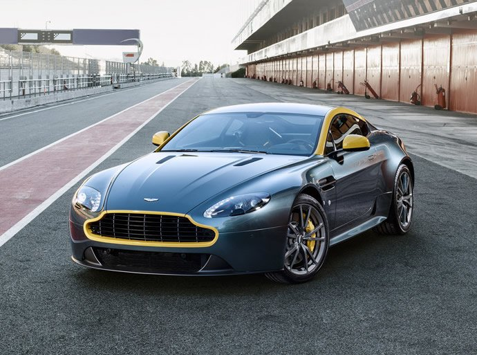 Aston Martin introduces special edition V8 Vantage N430 wrapped in racing livery