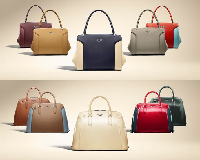 Scarves and more! Bentley reinvents 2014 Capsule Handbag ...