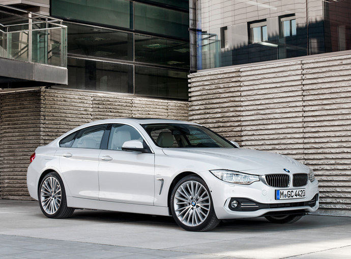 2015 bmw 4 series gran coupe goes official looks like a sexier 3 series sedan. Black Bedroom Furniture Sets. Home Design Ideas