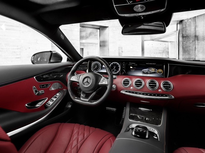 2015 mercedes s class coupe officially revealed has headlights encrusted with 47 swarovski crystals luxurylaunches 2015 mercedes s class coupe officially