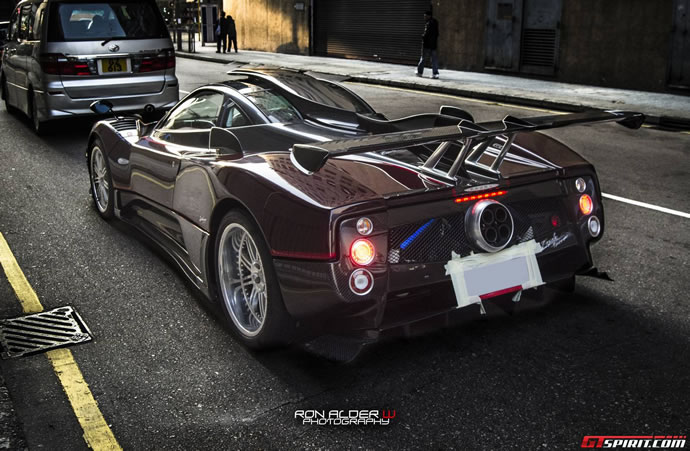 One Off Pagani Zonda 760 Fantasma Revealed Reaches The