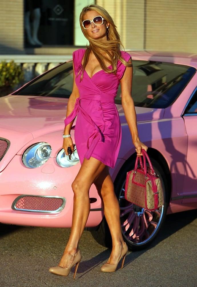 Paris Hilton Brings Barbie Back As She Channels The Doll