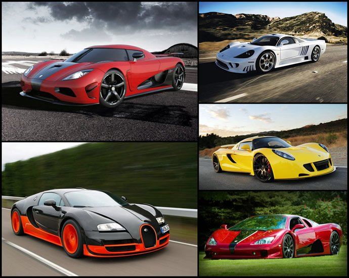10 fastest street legal production cars in the world -