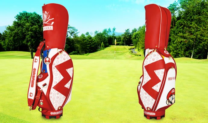 Super Mario Themed Golf Bag Brings The Fun Back In