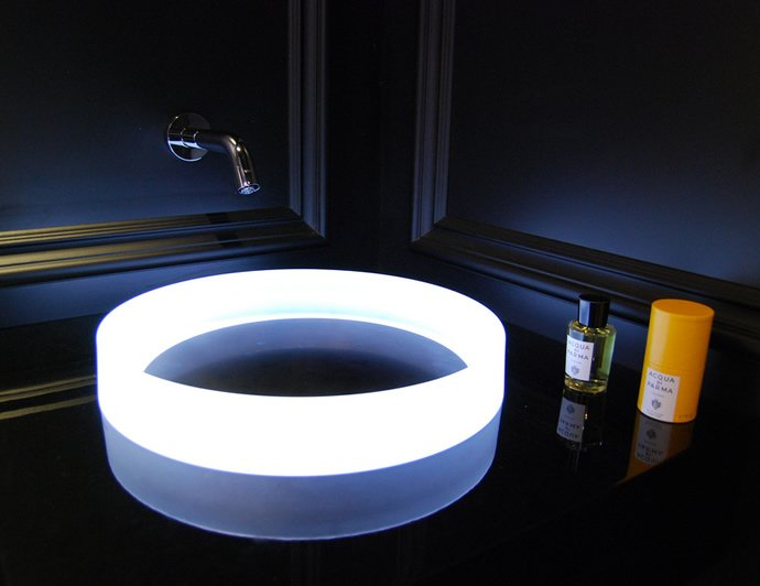 Ultra Futuristic Sink From Toto Will Light Up Your Bathroom