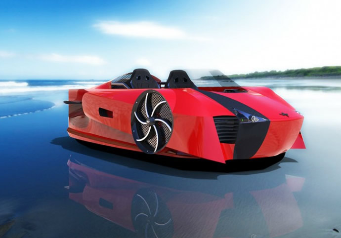 Ferrari of the seas – Mercier-Jones Supercraft will be the fastest hovercraft ever