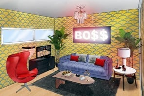 Like a Boss: The Snoop Lion designed Airbnb suite for SXSW festival in Austin Texas