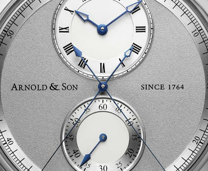 Arnold & Son Instrument CTB unveiled; world's first chronograph with a central true beat seconds hand