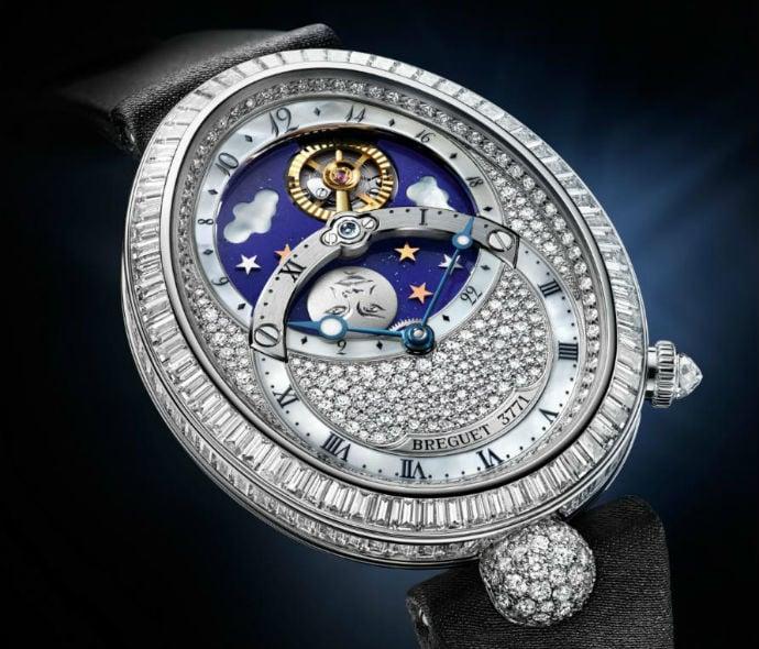 5d29e32f5522 Breguet Reine de Naples Jour Nuit a diamond studded brilliance of fine  watch making