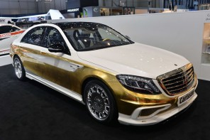 Carlsson CS50 Versailles is a gold customization of Mercedes S-Class gone wrong