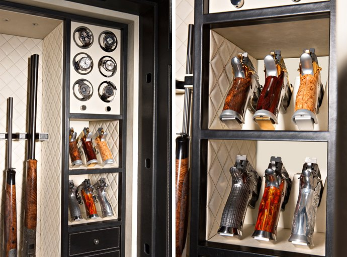 The new Liberty gun safe by Döttling is the humidor-toting mother of