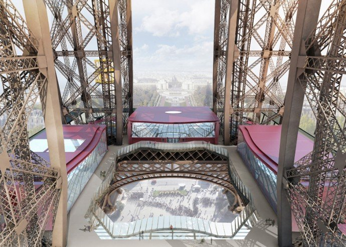 Eiffel Tower S First Floor Overhaul Nears Completion